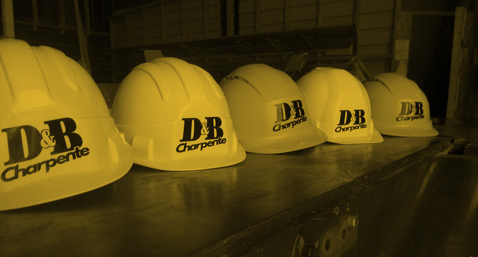 Protection chantier charpente